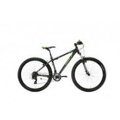 Lombardo Sestriere 270 27.5 22 inch mountainbike Black/Green